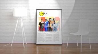 Prince COVR Poster spotlight